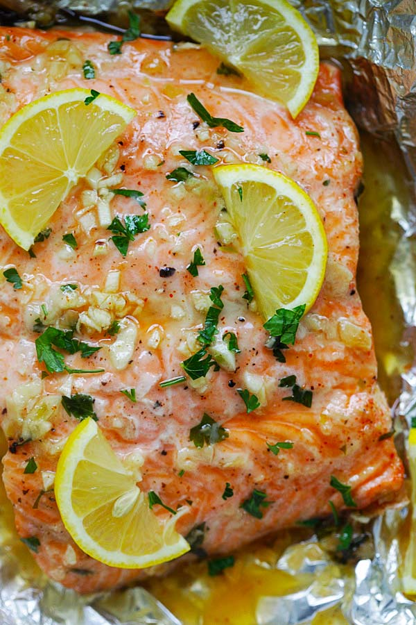 how to cook salmon in the oven with butter