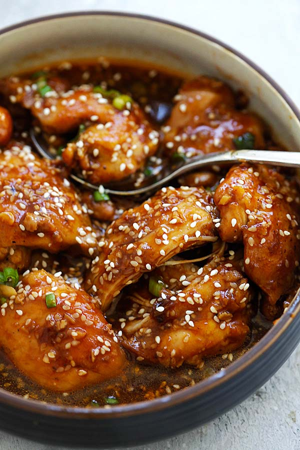 Honey Sesame Chicken is one of the best Instant Pot chicken recipes.