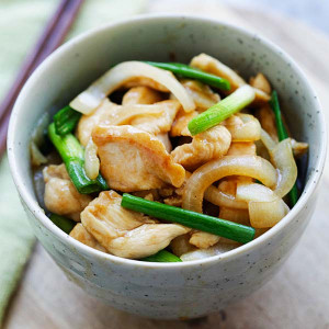 Onion Scallion Chicken