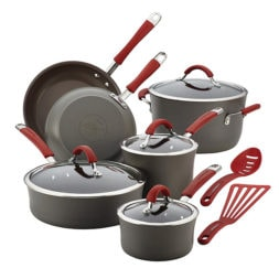 Rachael Ray™ Cucina Aluminum Nonstick 12-Piece Cookware Set (CLOSED)