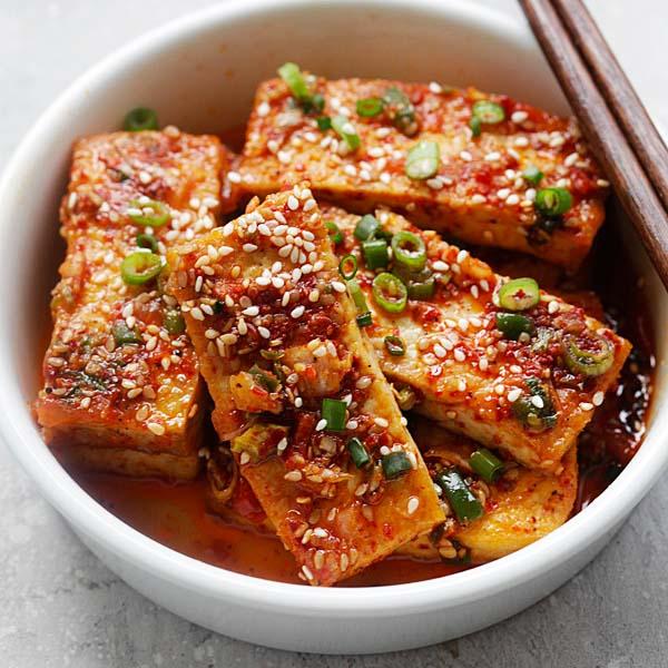 Spicy Korean Tofu Rasa Malaysia