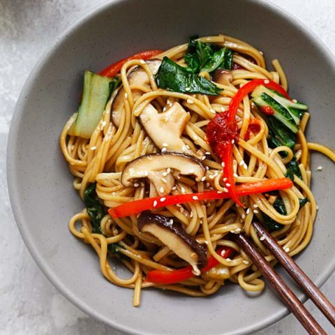 Lo Mein with Vegetables