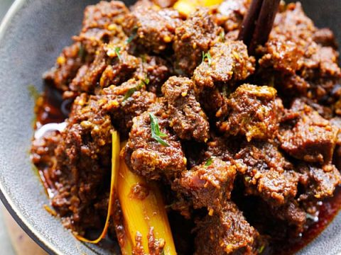 Beef Rendang (The BEST Recipe!) - Rasa Malaysia