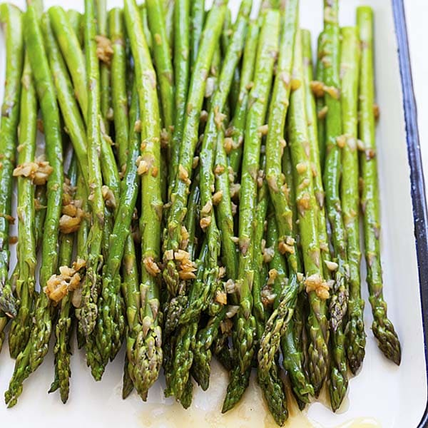 Sauteed Asparagus Best Recipe With Garlic Butter Rasa Malaysia