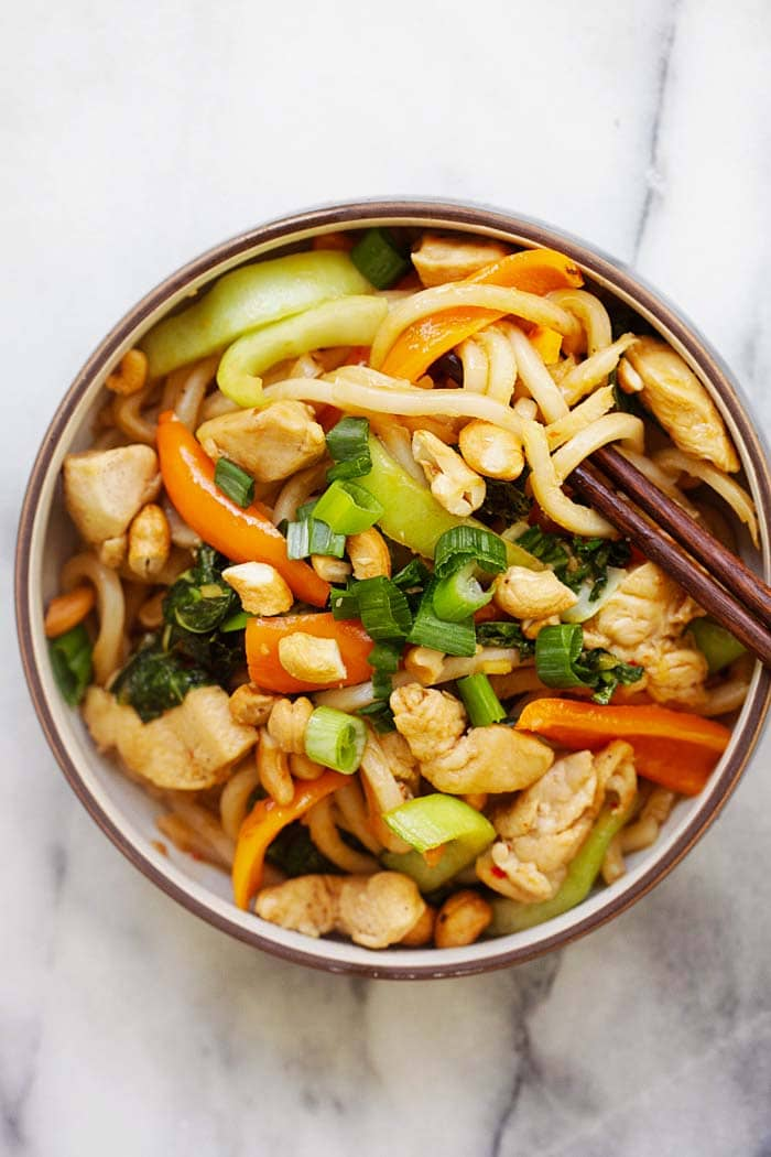 Rasa malaysia easy delicious recipes blue apron stir fry chicken with udon forumfinder Choice Image