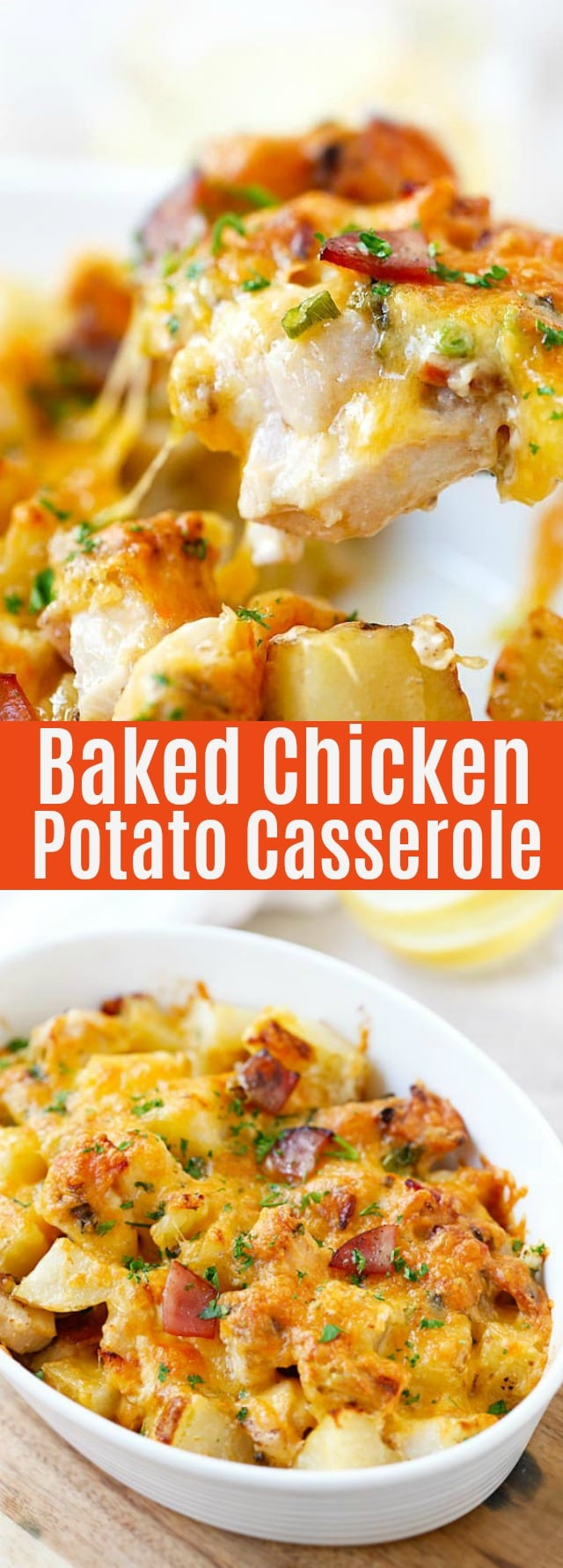 Baked Chicken and Potato Casserole