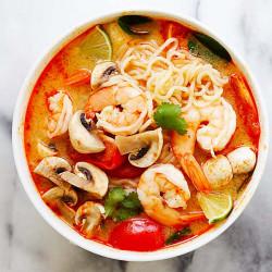 Thai Shrimp Ramen