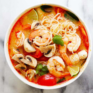 Thai Shrimp Ramen