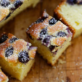 Blueberry Butter Cake
