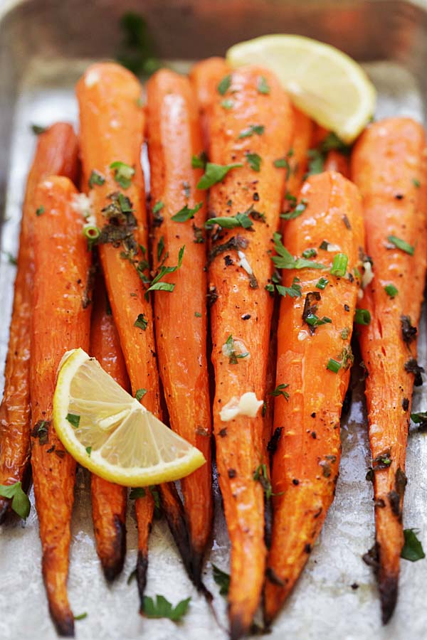 How to make Lemon Herb Roasted Carrots.