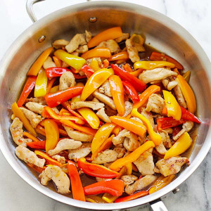 Sweet Pepper Chicken