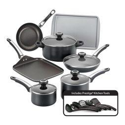 Farberware® High Performance Nonstick Aluminum 17-Piece Cookware Set Giveaway