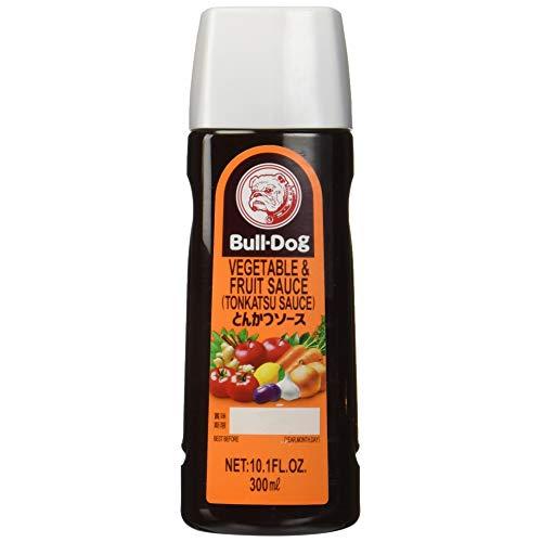 Tonkatsu sauce in a bottle.
