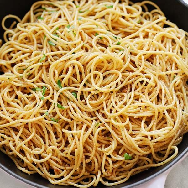 Brown Butter Garlic Noodles