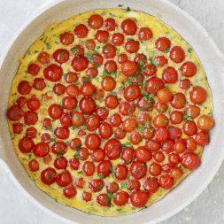 Cherry Tomato Frittata