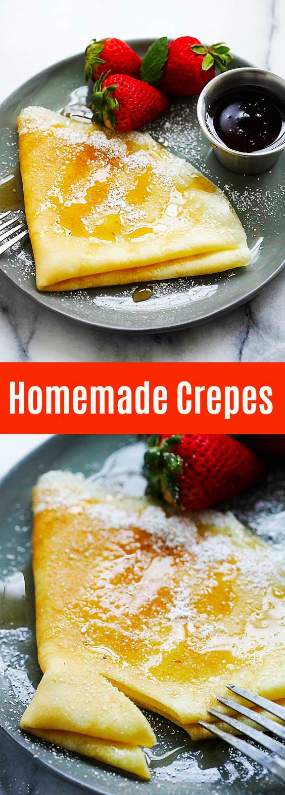 Crepe Recipe How To Make Crepes Rasa Malaysia