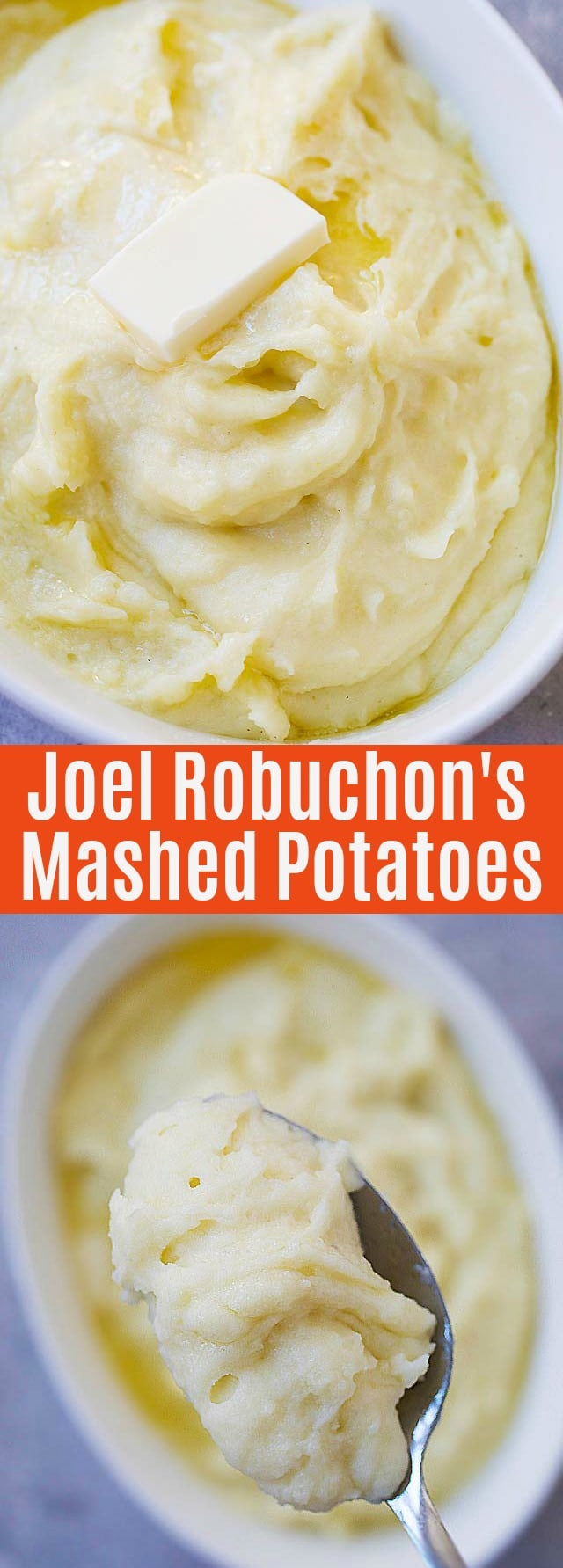 Joel Robuchon's Mashed Potatoes - the best mashed potatoes recipe in the whole world. Learn how to make perfect mashed potatoes,  complete with step-by-step picture guide.