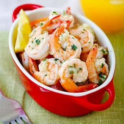 The best collections of shrimp recipes online. Learn how to cook shrimps – saute, roast, soups, stir-fry, deep-fry shrimps and so much more!
