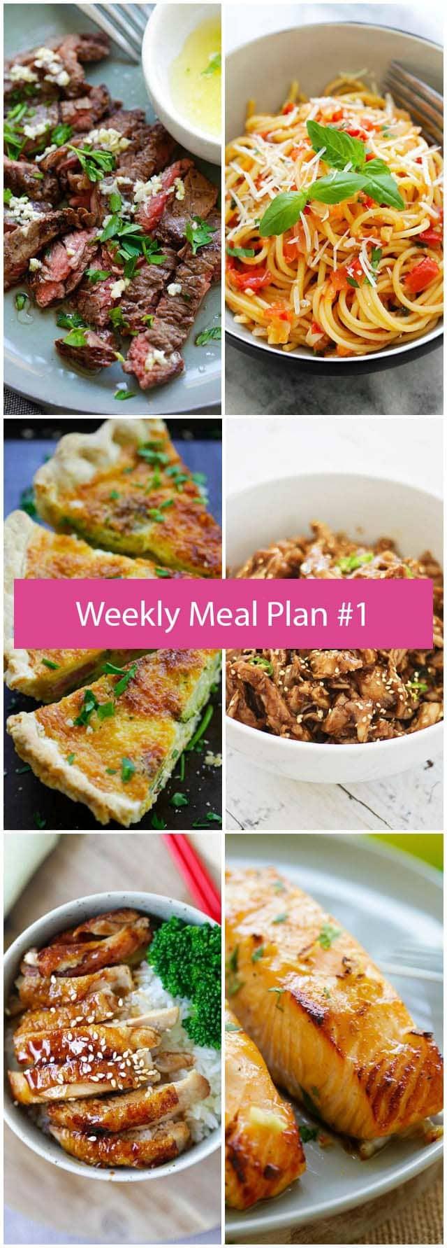 Weekly Meal Plan #1 | RasaMalaysia.com