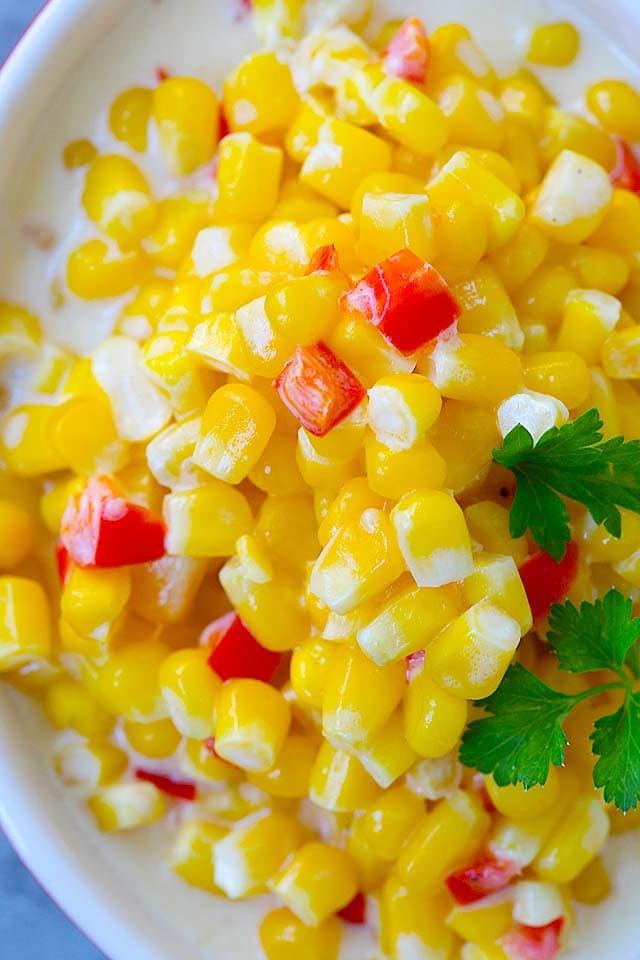 Creamed Corn.