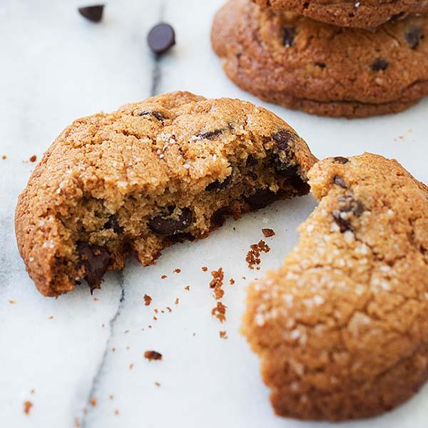 Salted Chocolate Chip Cookies Rasa Malaysia