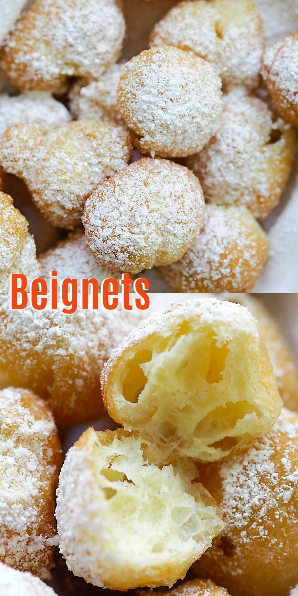 Easy Beignets – Homemade beignets have never been so easy and delicious! This easy beignet recipe is fail-proof and so good you can't stop eating.