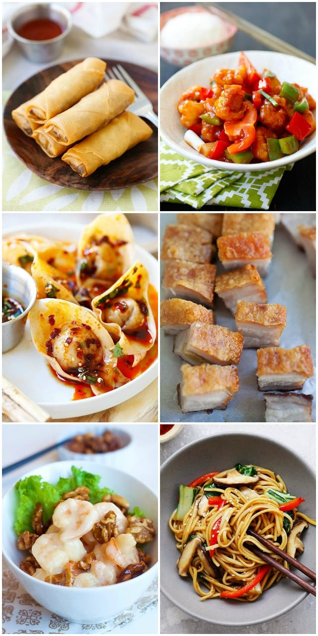 Chinese New Year Recipes with complete Chinese Lunar New Year meal plan.