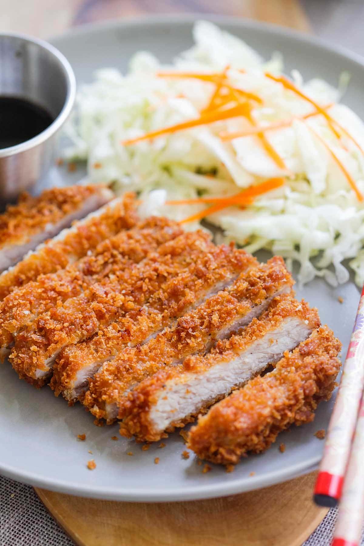 Japanese konkatsu chicken recipe.