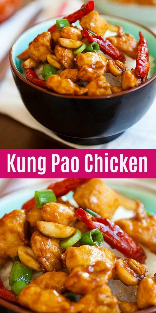 Kung Pao Chicken Just Like Chinese Takeout Rasa Malaysia