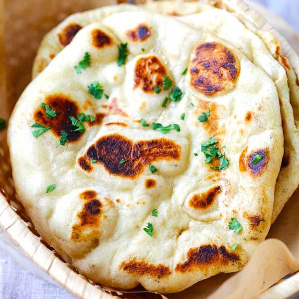 Naan Bread (The Best Recipe)