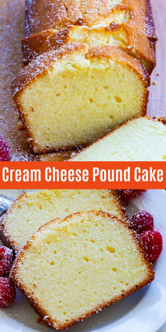 This rich, buttery and sweet Cream Cheese Pound Cake is everyone's favorite, as breakfast, afternoon tea or dessert any time of the day. This pound cake recipe is a keeper, bake it today!