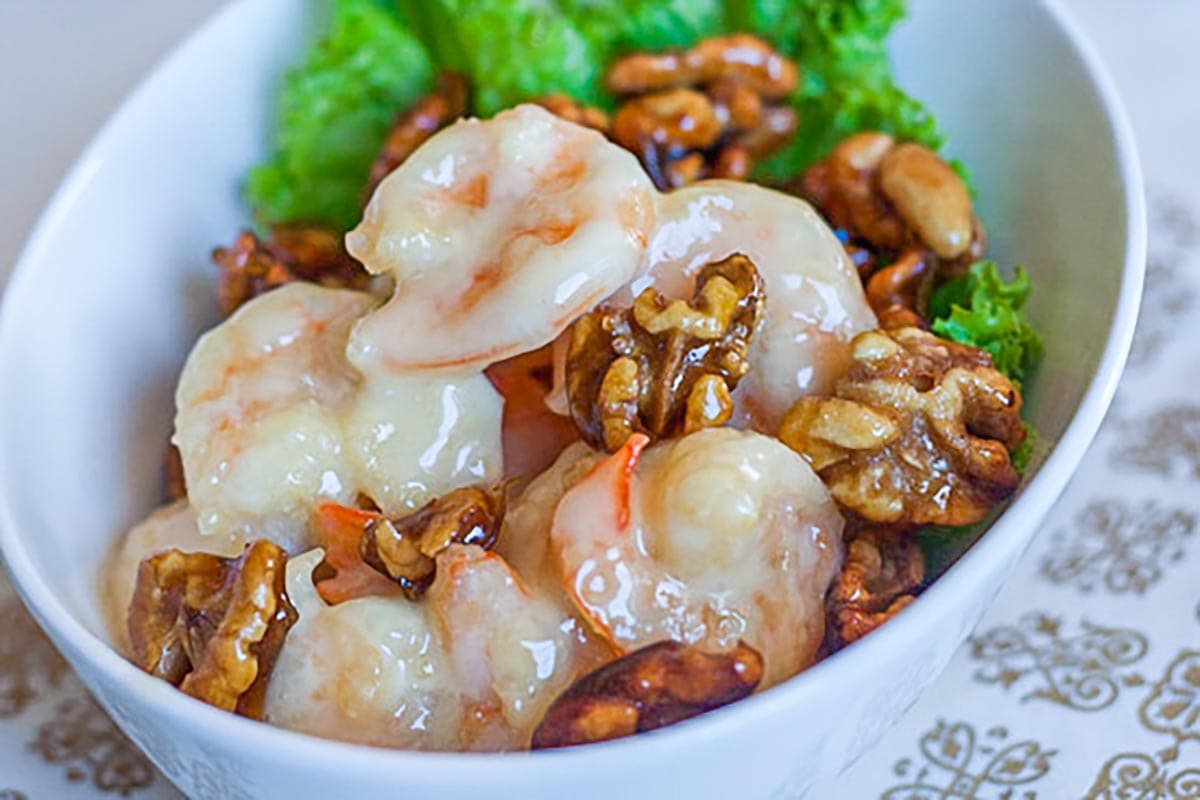 honey walnut shrimp.