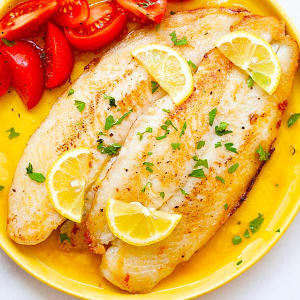 Lemon Butter Swai Fish