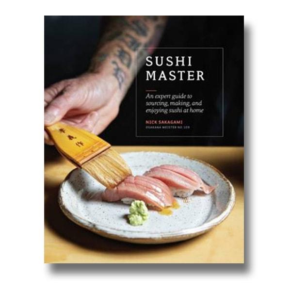 Sushi Master Cookbook Giveaway