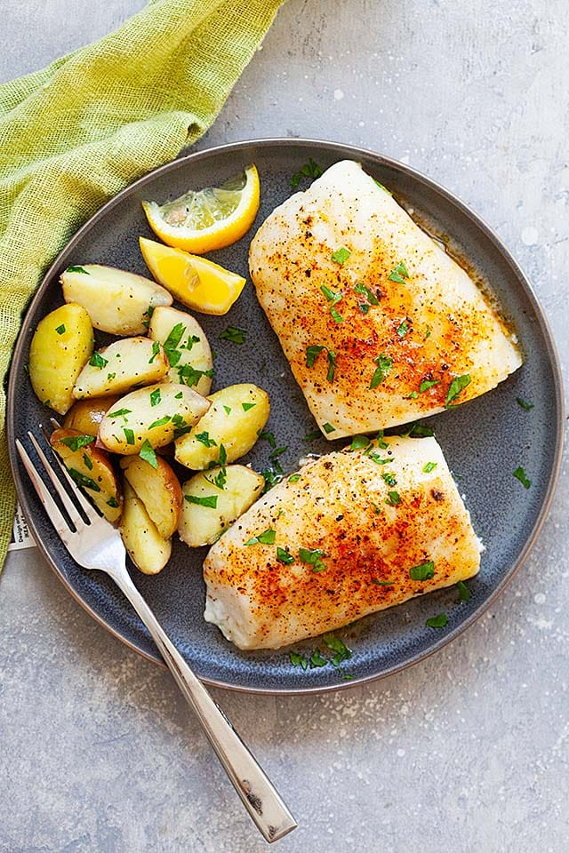 Bake cod is one of the best cod recipes.