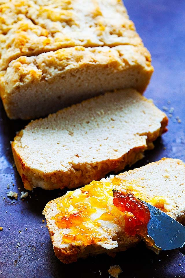 Beer Bread Four Ingredients Recipe Rasa Malaysia