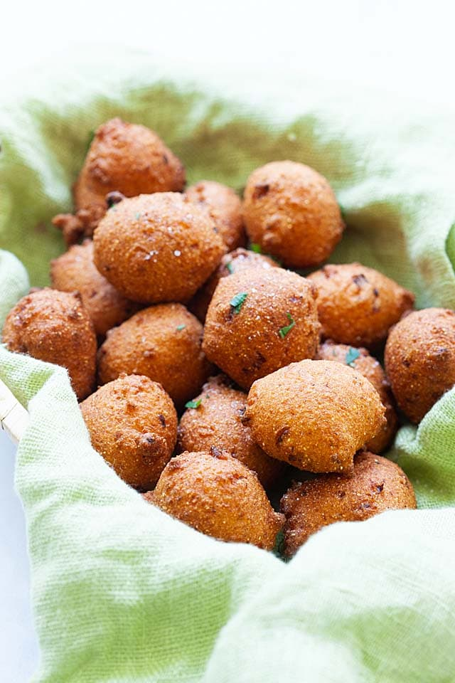 hush puppy recipe is popular in the Southern states of America.