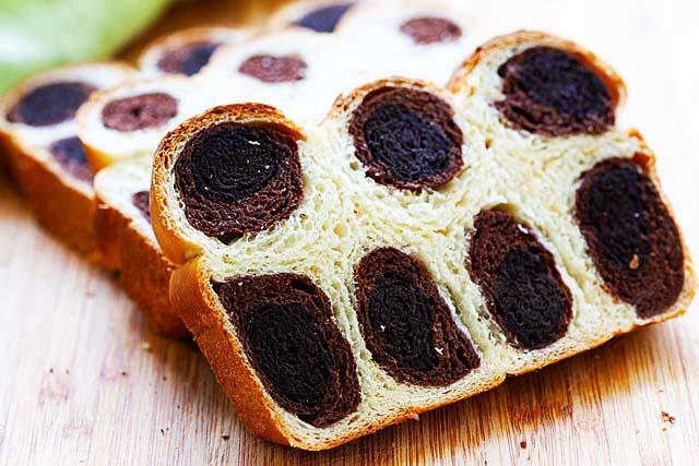 Leopard bread.