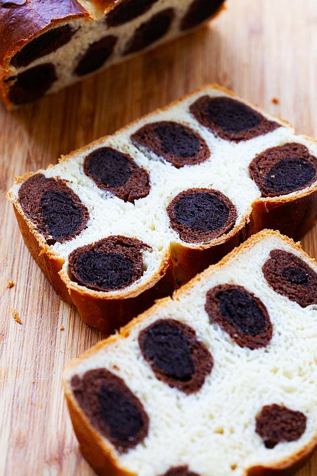 Leopard bread recipe.