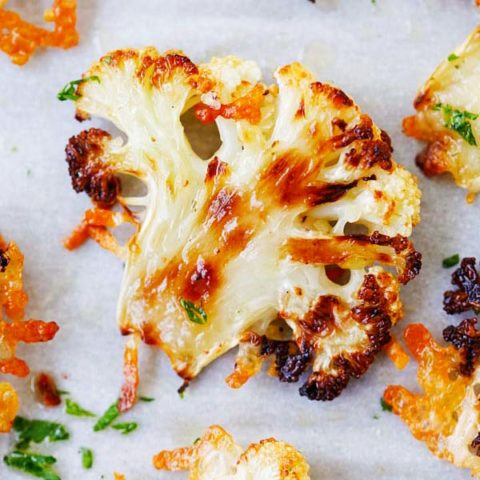 Cauliflower recipes roasted cauliflower