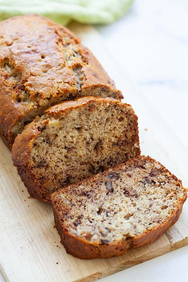 Best Banana Bread Recipe Extra Moist And Soft Rasa Malaysia