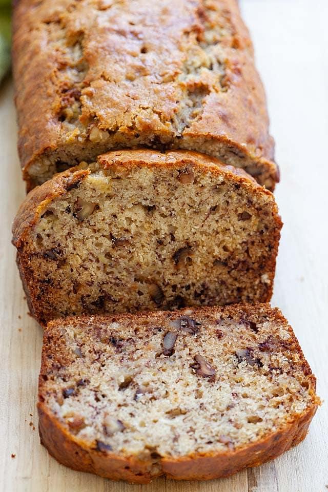 Best Banana Bread Recipe Extra Moist And Soft Rasa