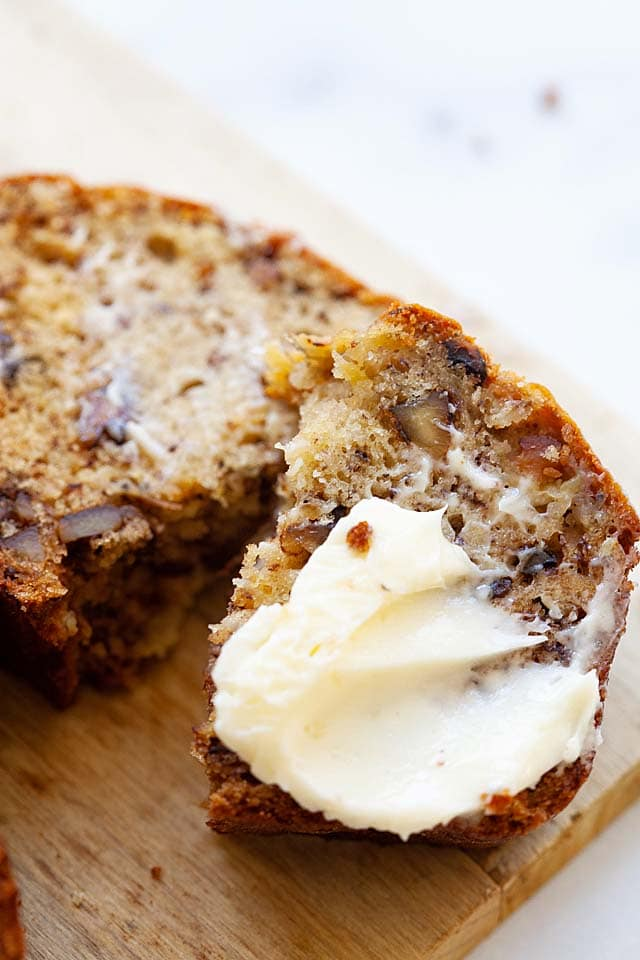 Best banana bread recipe moist.