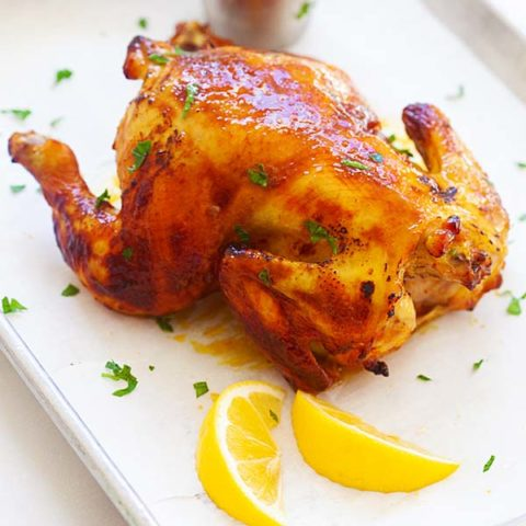 Cornish Hen ((The Best Recipe!)