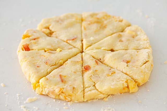Orange Scones Dough