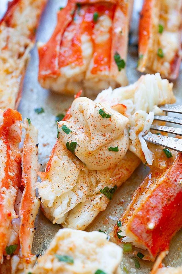 King Crab Best Baked Crab Legs Recipe Rasa Malaysia,Lemon Drop Shots With Triple Sec