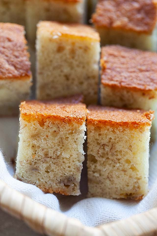 Healthy banana cake recipe without baking powder.