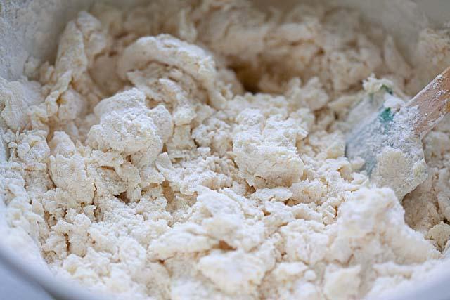 Butter cookie dough.