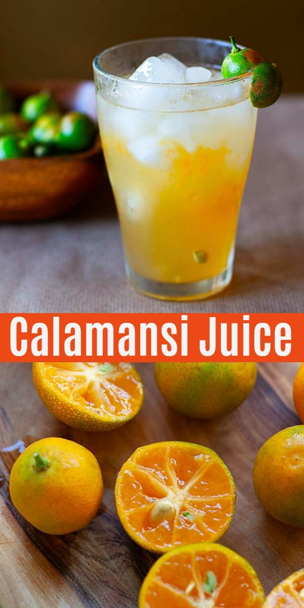 Calamansi (Calamondin/kalamansi) is a citrus tree with fresh, plump and juicy fruits that look like limes. Calamansi juice is a refreshing drink made with the fruit.