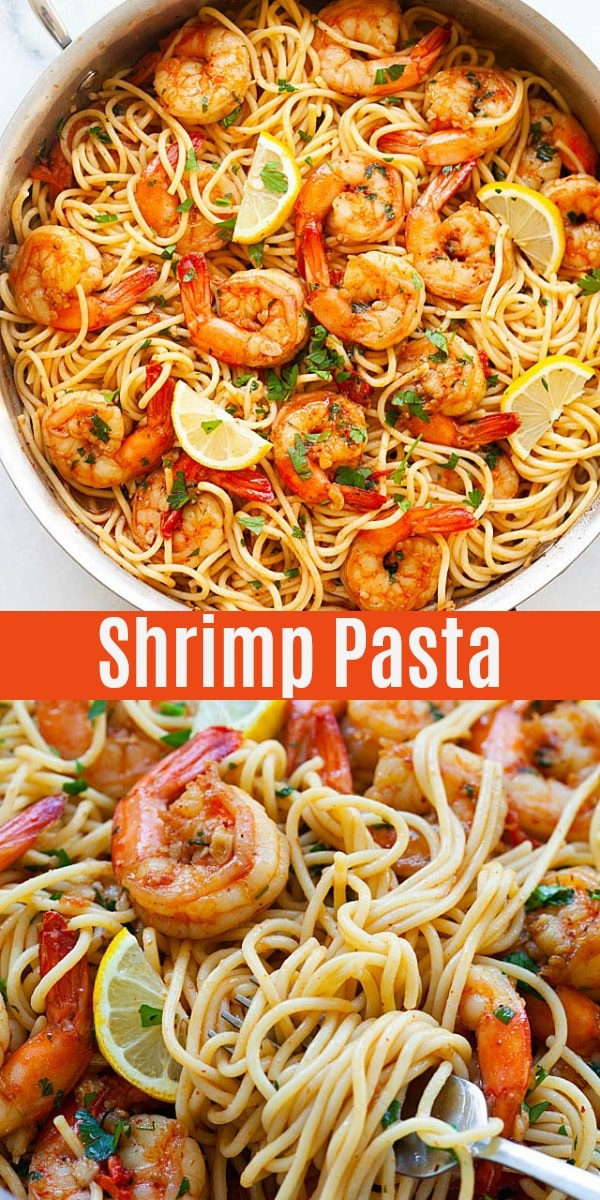 Rank 5 in Best Shrimp pasta recipes with calories and ingredients